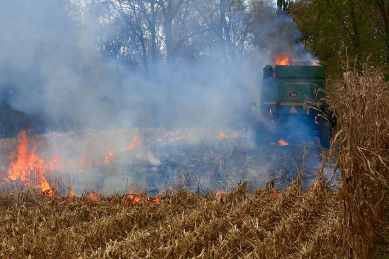Farm Equipment Fire In First Due
