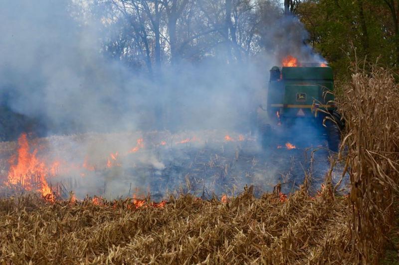 Farm Equipment Fire In First Due